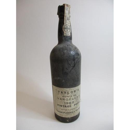 48 - A bottle of Taylors 1969 vintage Port...
