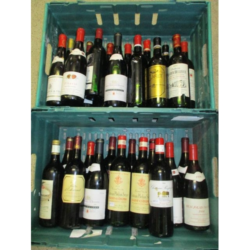 125 - Twenty eight mixed bottles of red to include Rioja, Bordeaux etc...