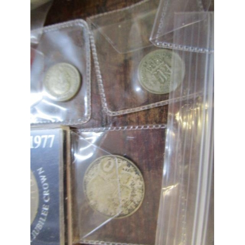 46 - A collection of over 400 coins to include re 1947 florins, sixpences, pennies, half crowns, farthing...