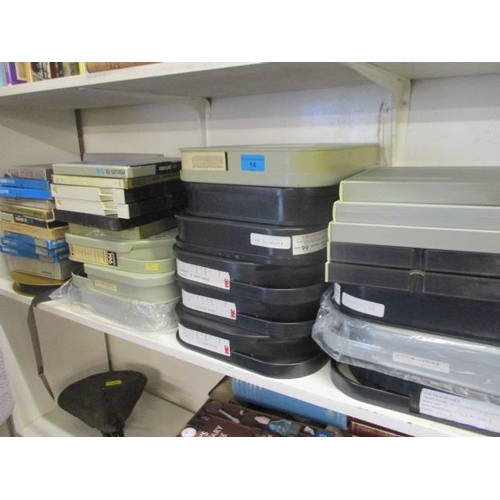 14 - Vintage reel to reel tapes with audio and video mastering tapes to include Ampex...