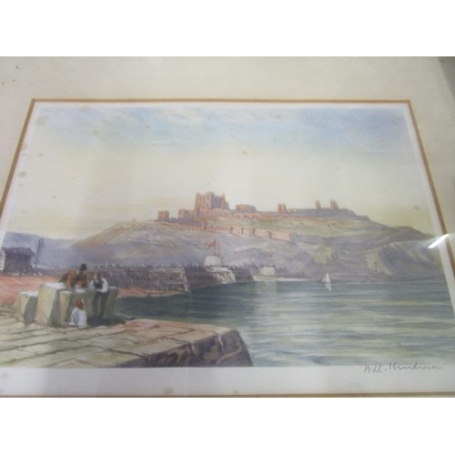 5 - Will Henderson - Harbour scenes, a pair of coloured prints, signed by the artist in the lower right ...