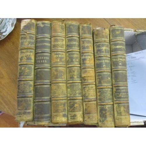 31 - Seven Shakespeare books dated 1866...