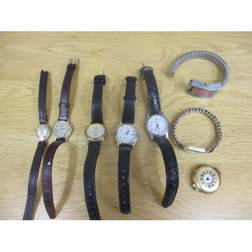 14 - Mixed watches to include an early 20th century 9ct gold watch...