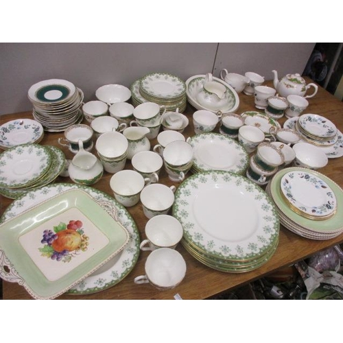 31 - Mixed china to include Doulton Ashmont, Colclough and others...