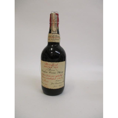 18 - A single bottle of Berisford Solera 1914 Sherry, 0.70lts...