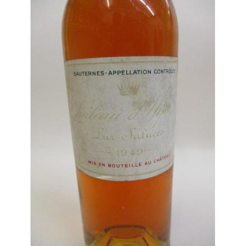 2 - A bottle of Chateau D'Yquem Sauternes 1949...