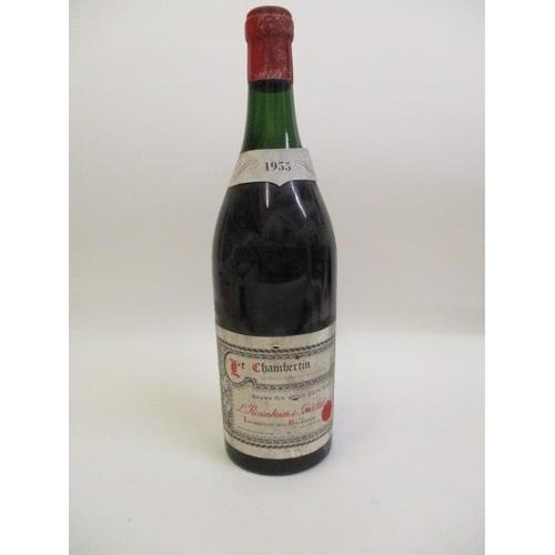 5 - A bottle of Le Chambertin Grand Vin de la Cote Dor 1955...