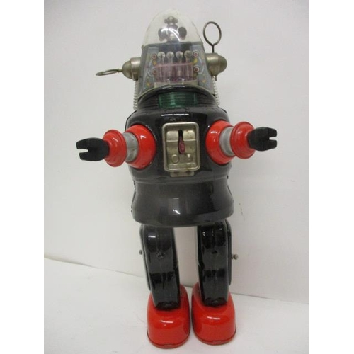 1 - A Japanese TN 'Robby the Robot', metal toy battery operated,  13