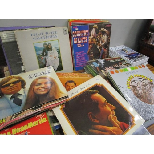 4 - A collection of easy listening and country music LPs to  include Dawn Candida, Peters & Lee, The Car...