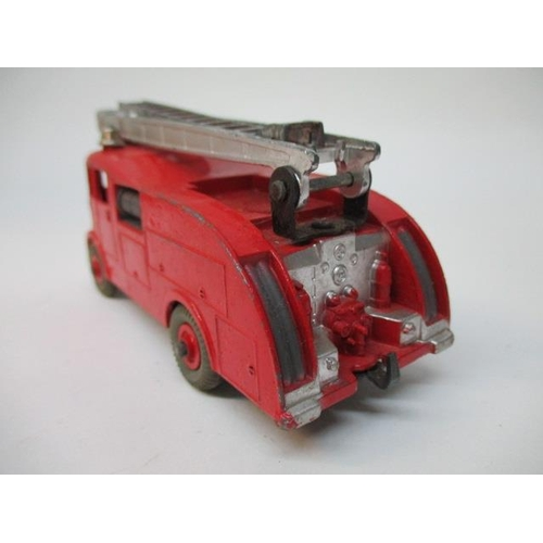 41 - Dinky Toys - 917 Guy Van Spratts and a 955 Fire Engine, boxed...