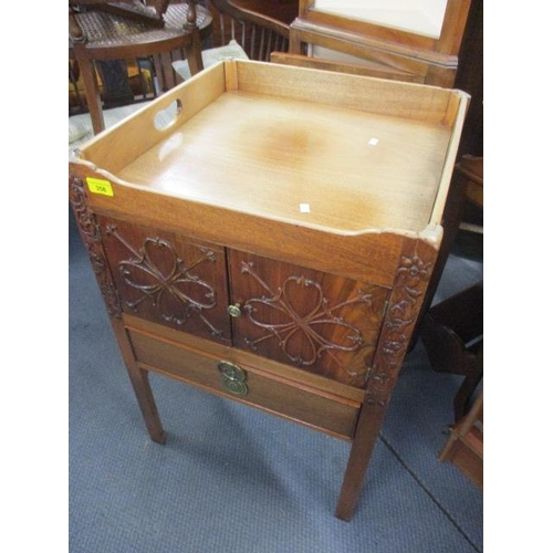 125 - A converted Georgian commode...