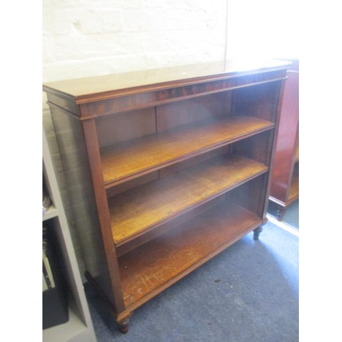 31 - A pair of early 20th century mahogany bookcases, 38