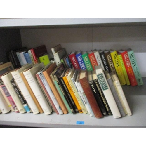 105 - A quantity of art and antiques reference books, together with general collectors reference books...