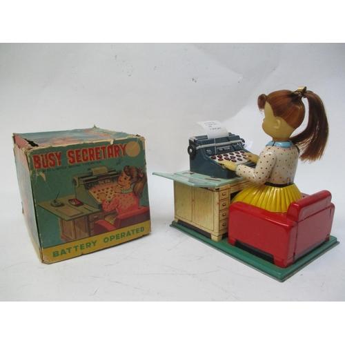 15 - A 1950s/60s Linemar Busy Secretary with original box...