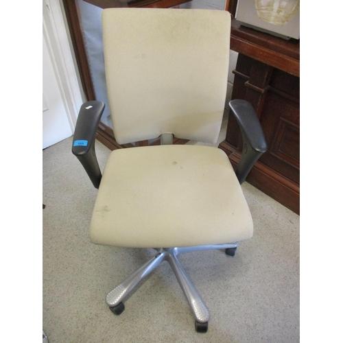 57 - A modern HAG office swivel chair...