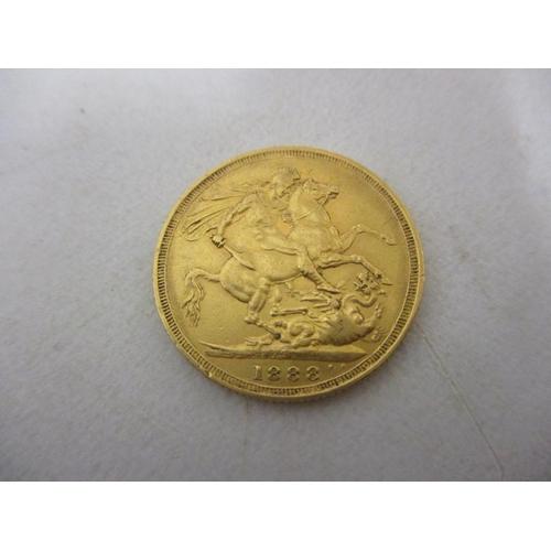 28 - An 1888 full sovereign...