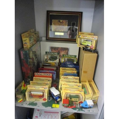 6 - A mixed lot including miniature boxed cars, a Waddington's puzzle, Titanic wide screen collectors ed...