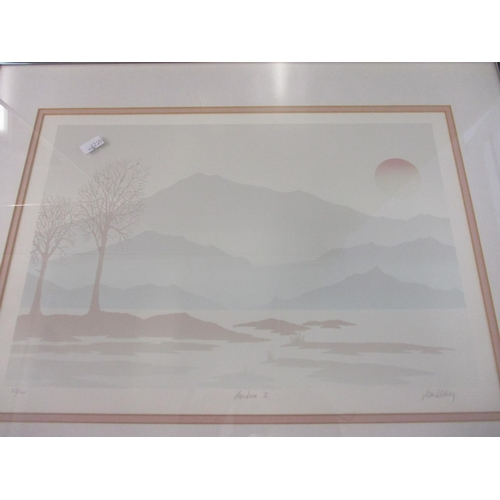 14 - A glazed reproduction Monet poster and other gallery prints to include a 1937 Tate Gallery print by ...