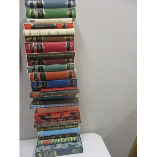 19 - Mixed Folio Society books to include Anthony Trolloppe novels...
