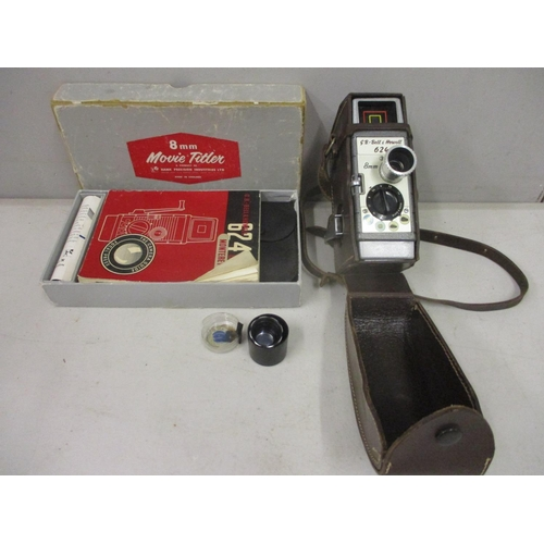 23 - An 8mm Bell & Howell 624 cine camera, in original box...