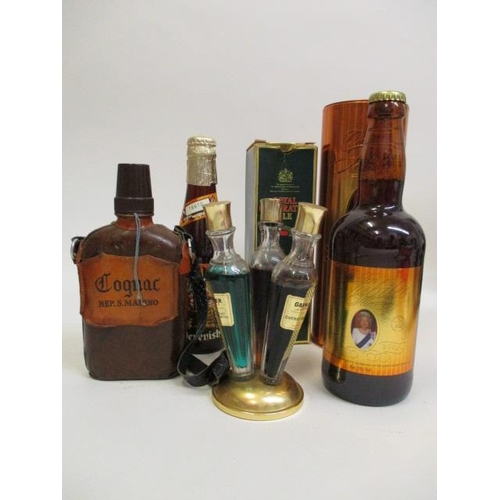 50 - Miscellaneous bottles to include Royal Celebration Ale, Golden Jubilee Ale, Cognac Reps Marino, thre...
