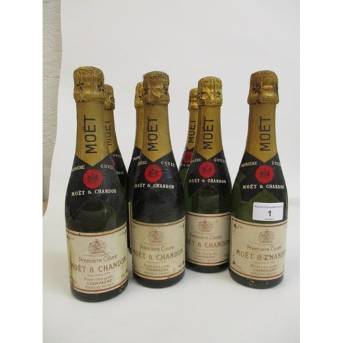 1 - Eight half bottles of Moet & Chandon Champagne Location 3.2...