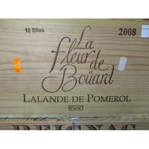 25 - Twelve cased bottles of La Fleur de Bouard LaLande de Pomerol 2008 Location RAM...