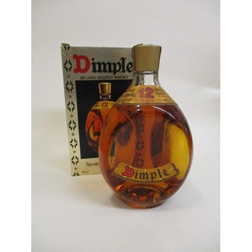 34 - A boxed bottle of Dimple Haig Scotch Whisky, 75cl Location 6.2...