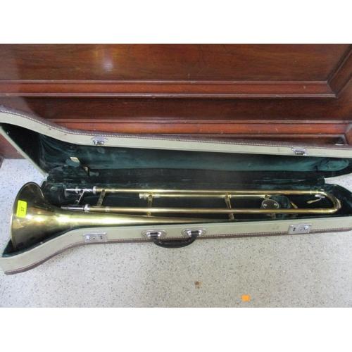 37 - A skylark trombone in travel case...