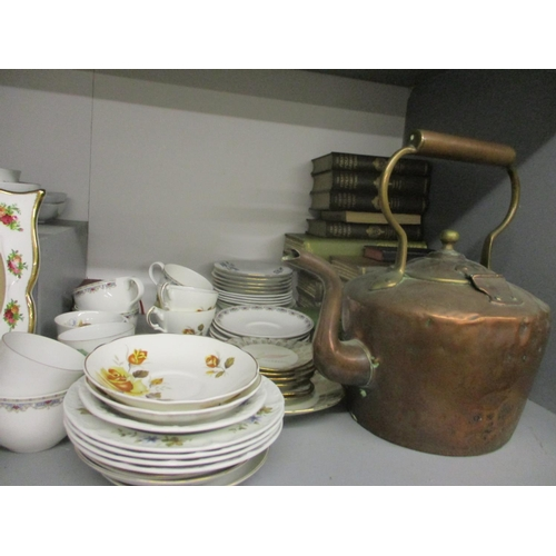 13 - Ceramics and collectables to include a Coalport Khotor pattern teaset, an Royal Albert Old Country R...