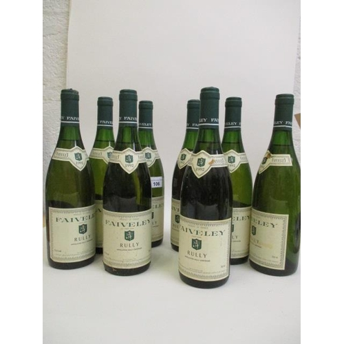106 - Eight bottles of Rully, Faiveley 1992 Location 9.4