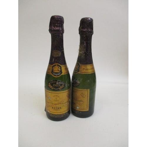 112 - Two half bottles of Veuve Cliquot 1983 Location 6.2