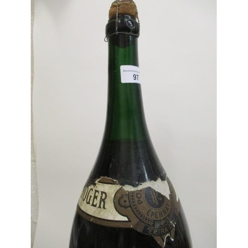 97 - A bottle of Roger Champagne 6L, Methusaleh A/F Location RWM