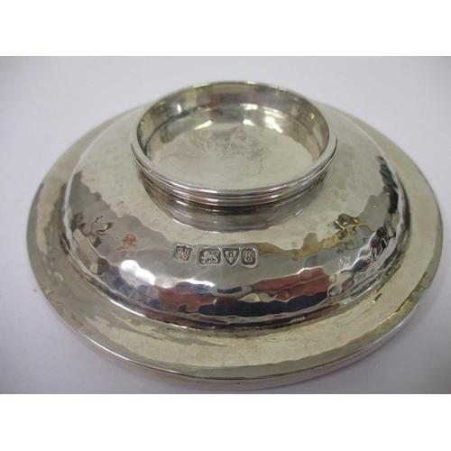 25 - An Arts & Crafts spot hammered bowl 4