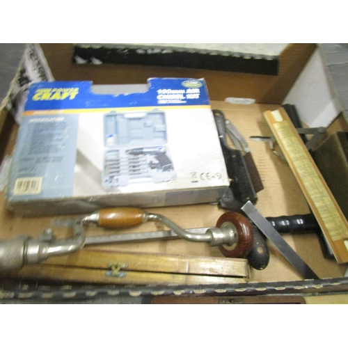 512 - A quantity of various boxed vintage tools Location G...