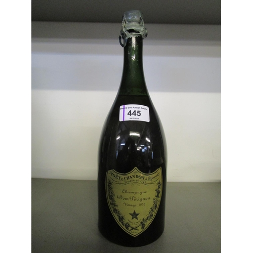 445 - One bottle of Moet and Chandon Dom Perignon vintage 1952 Champagne Location 2.1...