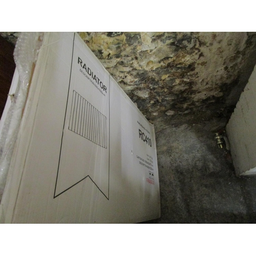 446 - Three brand new boxed radiators Location G...