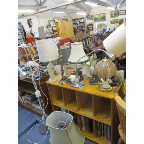 35 - Miscellaneous side lamps mainly 1980's - 1990s examples Location: LAF...