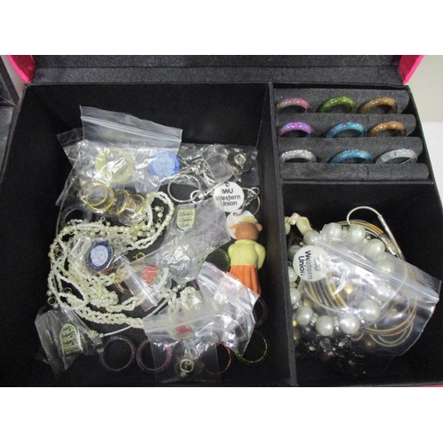 4 - Costume jewellery and watches to include necklaces, bracelets, rings and other items together with a...