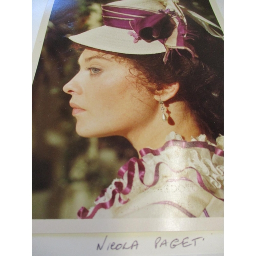37 - Film related ephemera and 'on set' photographs to include Nicola Paget in 'About to Commit Suicide i...