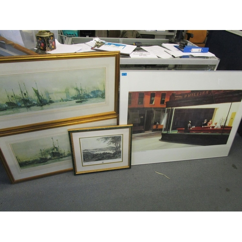 56 - Prints to include two limited edition prints by Charles Dickinson and two other prints Location: BWR...