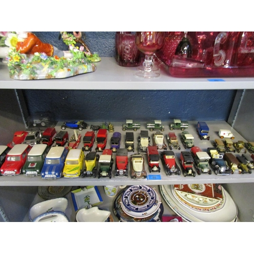 60 - A group of diecast model cars to include Matchbox, Corgi and others Location: 9:5...