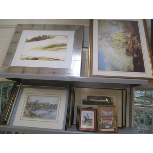 11 - Mixed pictures to include local scene prints, Battle of Trafalgar print and others Location: LWB...