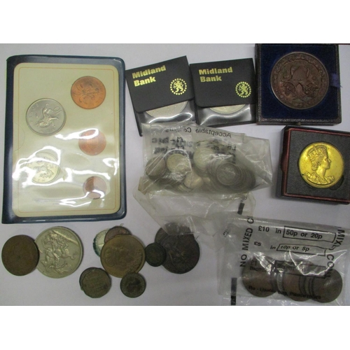 3 - Mixed coins to include silver threepenny coins and others Location: LWB...