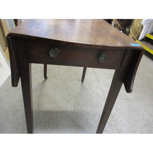 97 - A late 19th century Victorian mahogany Pembroke table Location: RWB...