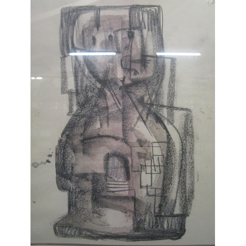 103 - After Henry Moore 1898-1986 - Young Girl (Alice)/Square Form 1959, two facsimile prints for The Quin...