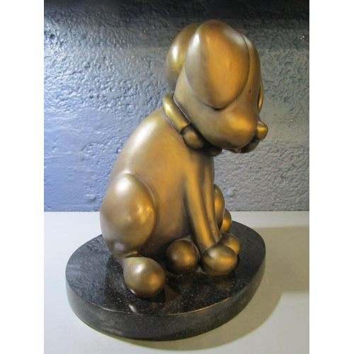 110 - Doug Hyde b 1972, British - Beware of the Dog, a signed, limited edition bronze sculpture, edition n...