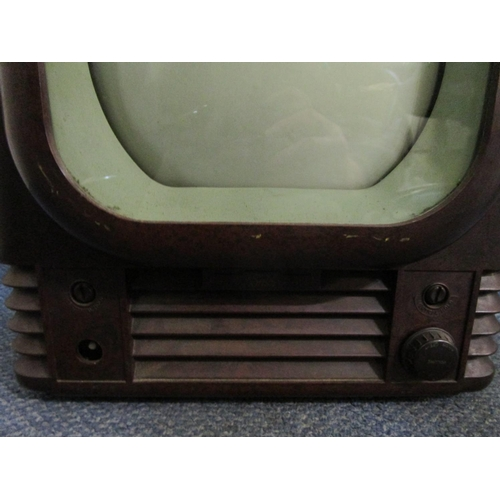139 - Industrial design - a Bush radio television receiver type TV22, 200-250V, 140 watts, Bakelite cased,...