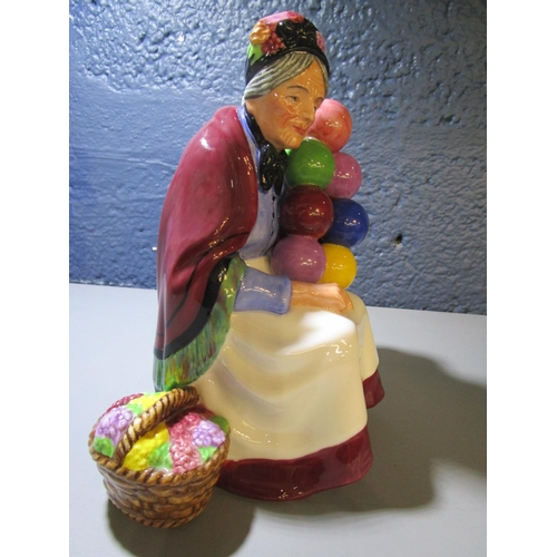 27 - Leslie Harridene for Royal Doulton - The Old Balloon Seller HN3737, a Michael Doulton exclusive 1999...