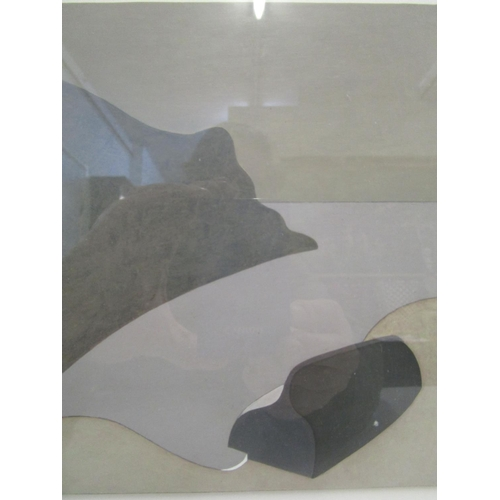 97 - Andrew Lanyon b1947 - The Upturned Boat c1985, oil on board, unsigned 5 5/8